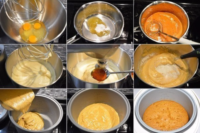 Рецепт из бисквитного теста рецепт пошагово в духовке