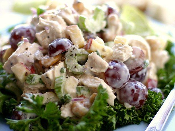 Салат с виноградом и говядиной рецепт очень вкусный