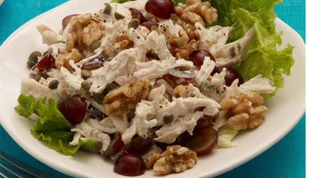 Рецепты салата курочка с орехами