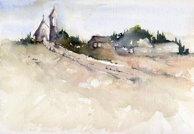 Church on the Road (652x450, 242Kb)