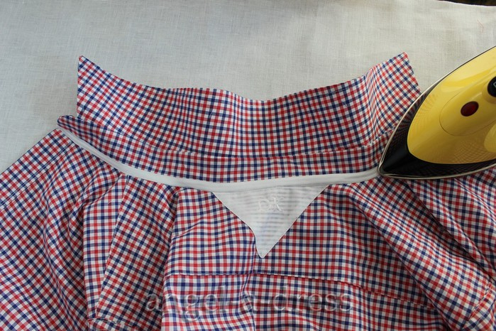 Мастер класс пошив рубашки