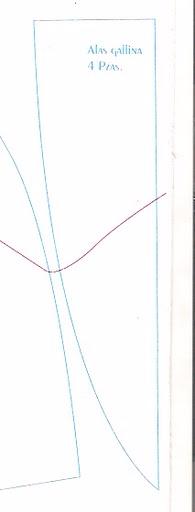 Шьем петушков и курочек. Много идей и выкроек (39) (195x512, 43Kb)