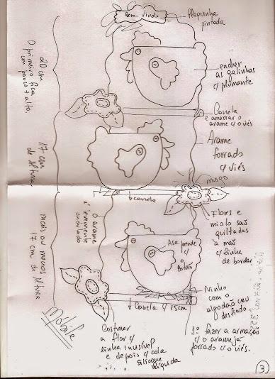Шьем петушков и курочек. Много идей и выкроек (72) (388x534, 194Kb)