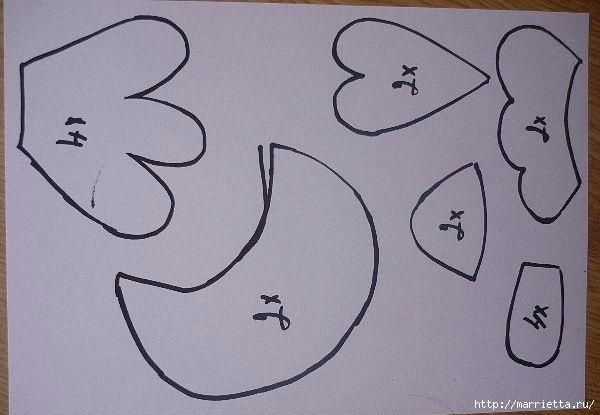 Шьем петушков и курочек. Много идей и выкроек (83) (600x415, 113Kb)