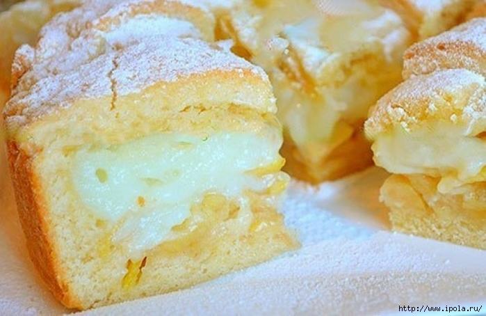 """alt=""""Яблочный пирог с НЕЖНЕЙШИМ заварным кремом""""/2835299_1_796x517 (700x454, 219Kb)"""