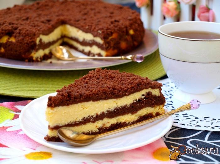recipes10143 творожный пирог с шоколадной кройшкой (700x524, 418Kb)