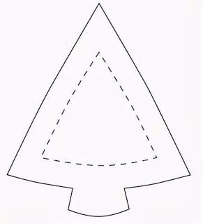 Подвеска «Елочка» из фетра. Шаблоны (6) (291x320, 24Kb)