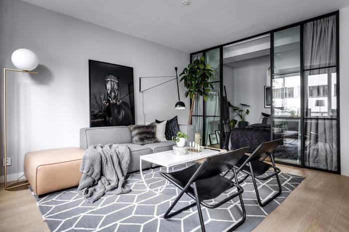 современный дизайн квартиры-студии 3 (700x466, 252Kb)