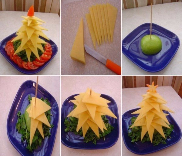 Новые идеи сервировки Новогоднего стола