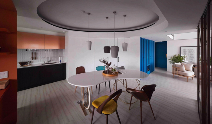 красивый дизайн современной квартиры 1 (700x411, 254Kb)