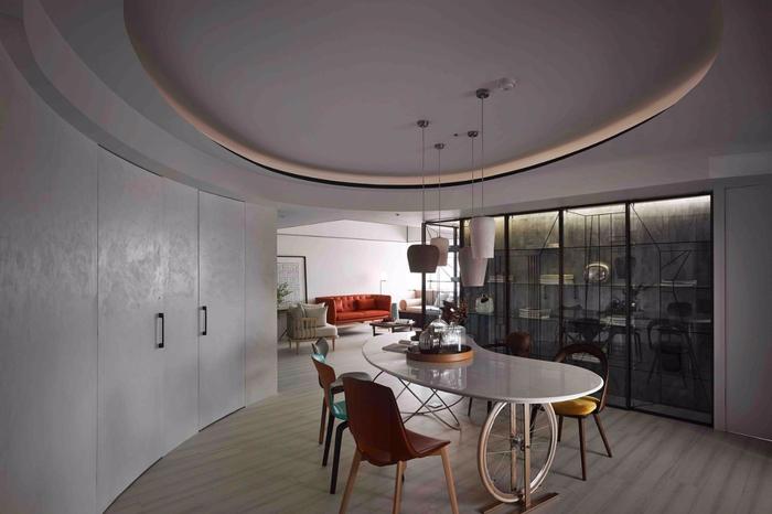 красивый дизайн современной квартиры 3 (700x466, 249Kb)