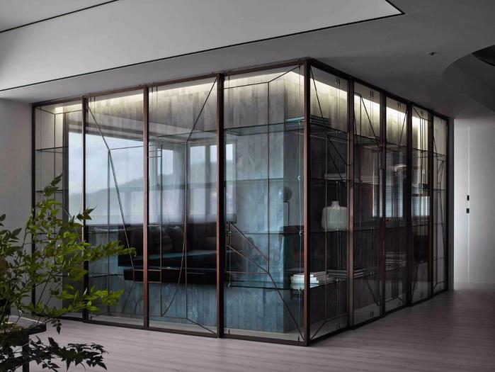 красивый дизайн современной квартиры 5 (700x525, 324Kb)