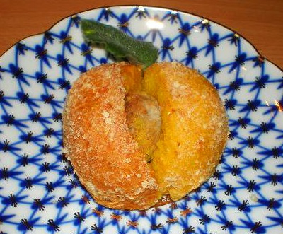 Картофельно-мясная закуска «Золотые шарики»