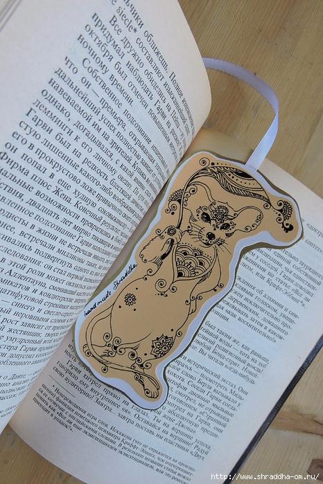 закладка для книг Мышка от Shraddha (4) (466x700, 352Kb)