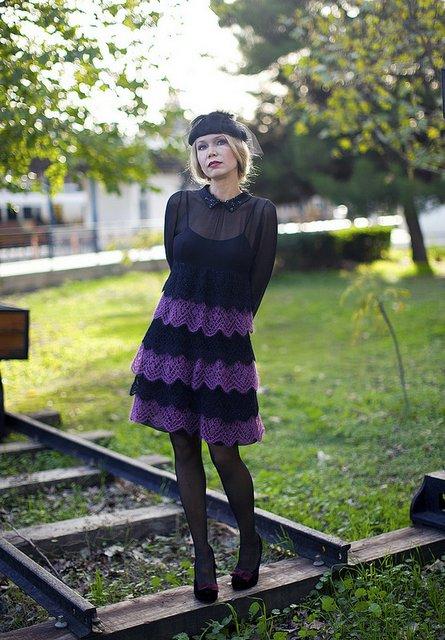 платье вязаное (445x640, 82Kb)