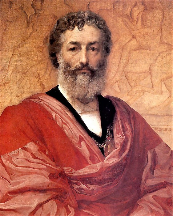 Frederic  Leighton   Автопортрет   1880 (562x700, 153Kb)