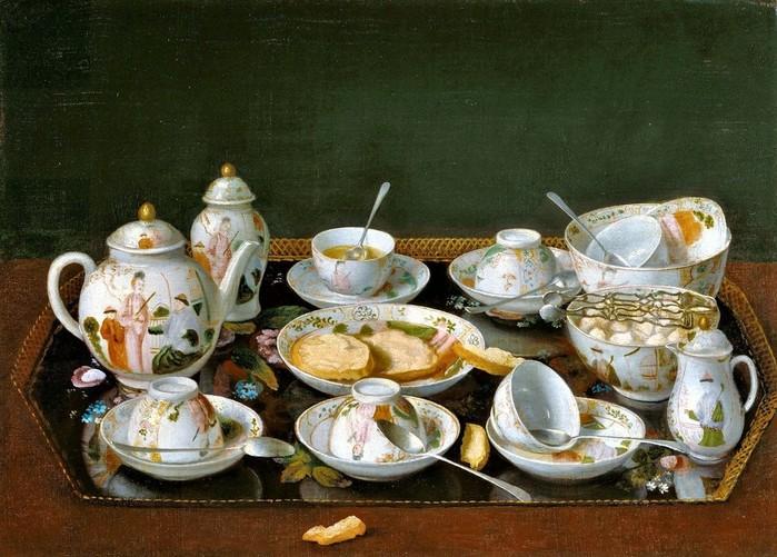 Натюрморт с чайным сервизом     1781-1783    37.8 х 51.6   х. на к.,м.  Лос-Анджелес, музей Пола Гетти (700x501, 119Kb)