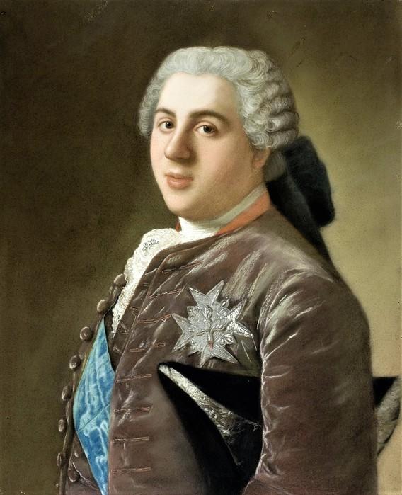 Портрет Луи де Бурбона (1729-65), дофина Франции     ок.  1749      60.4 х 49.9   бумага, пастель   Амстердам, Рейксмузеум (568x700, 110Kb)