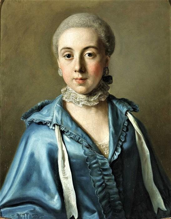 Портрет дамы в синем платье      58.4 х 46.3   х.,м.   Частное собрание (547x700, 113Kb)