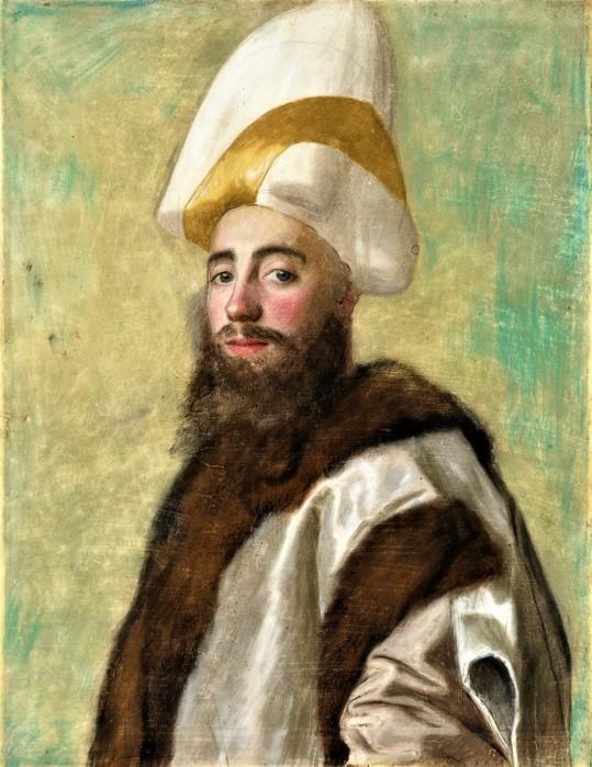 Портрет великого визиря      1738-1743     61.6 x 47.6    бумага, пастель   Лондон, Национальная галерея (539x700, 116Kb)