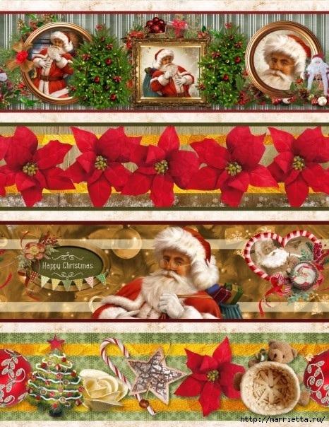 Картинки для декупажа. Новогодняя и рождественская тематика (6) (466x604, 265Kb)