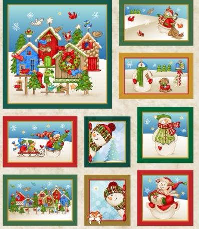 Картинки для декупажа. Новогодняя и рождественская тематика (8) (397x457, 240Kb)