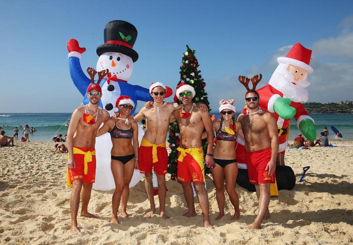 новый год на пляже в австралии 11 (700x486, 420Kb)