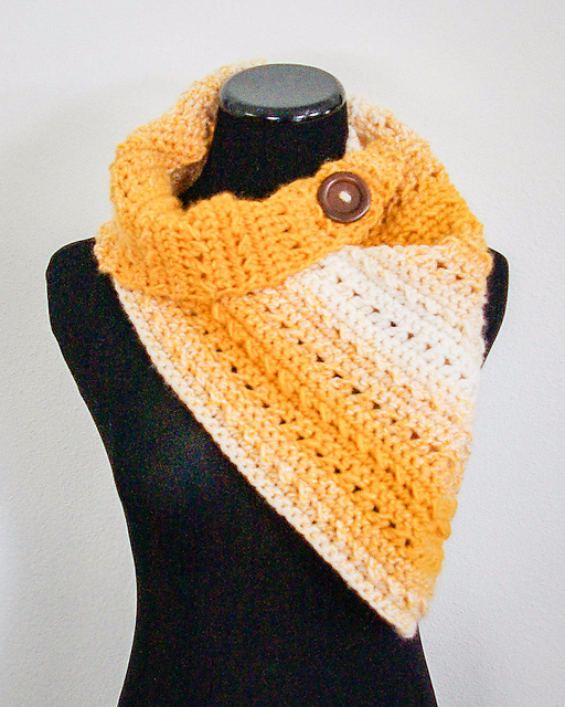 10 Free Crochet Patterns Made With Lion Brand Scarfie - dinocro.info