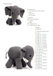 Схема вязания крючком слоненка 7
