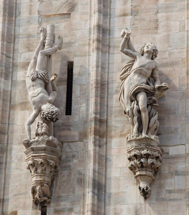 миланский кафедральный собор 8 (616x700, 499Kb)