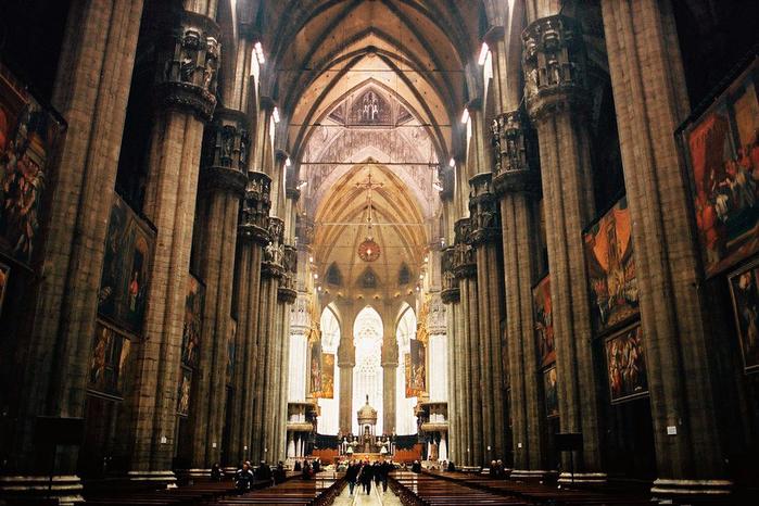 миланский кафедральный собор 15 (700x466, 447Kb)