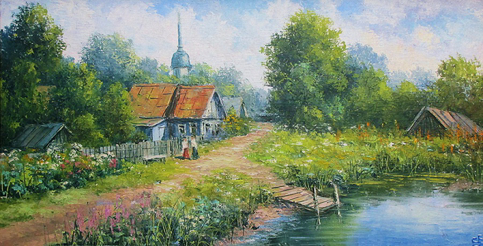 Художник Евгений Синевgl (800x457, 391Kb)
