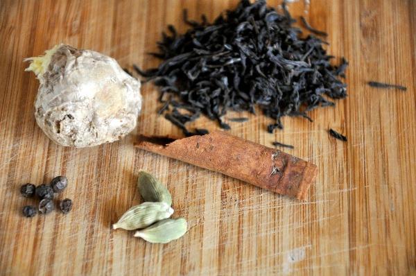 домашний чай для похудения с имбирем