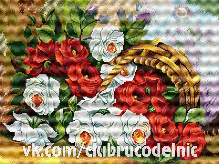 Садовые розы (700x525, 659Kb)