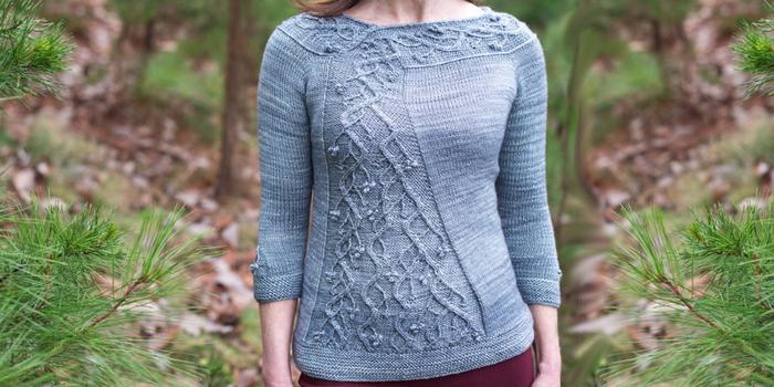 Красивый пуловер женский