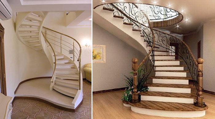 Из чего сделать лестницу для дома (2) (700x390, 233Kb)