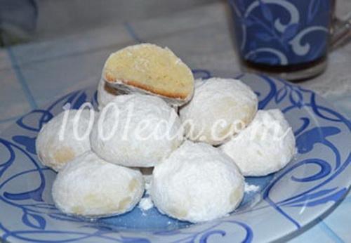 Рецепт печенья снежок в домашних условиях