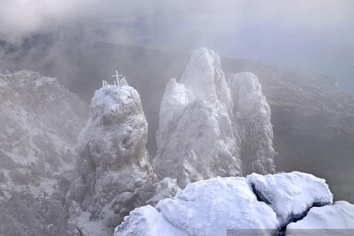 ай-петри зимой фото 7 (700x467, 267Kb)