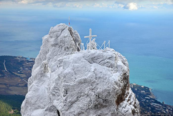 ай-петри зимой фото 14 (700x467, 351Kb)