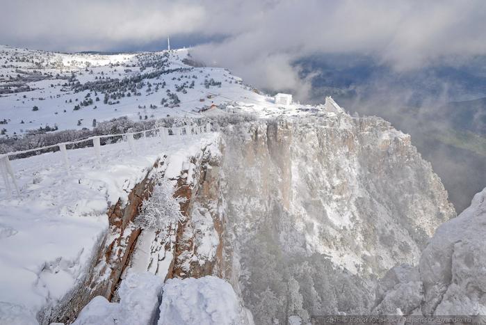 ай-петри зимой фото 18 (700x467, 325Kb)