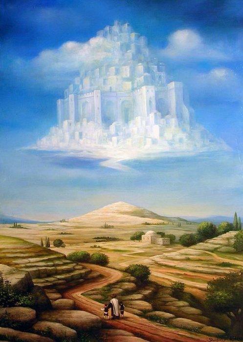 Над небом голубым...Борис Шапиро (497x700, 63Kb)