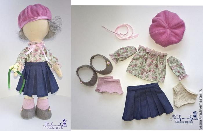 Как сшить аксессуары для куклы 67