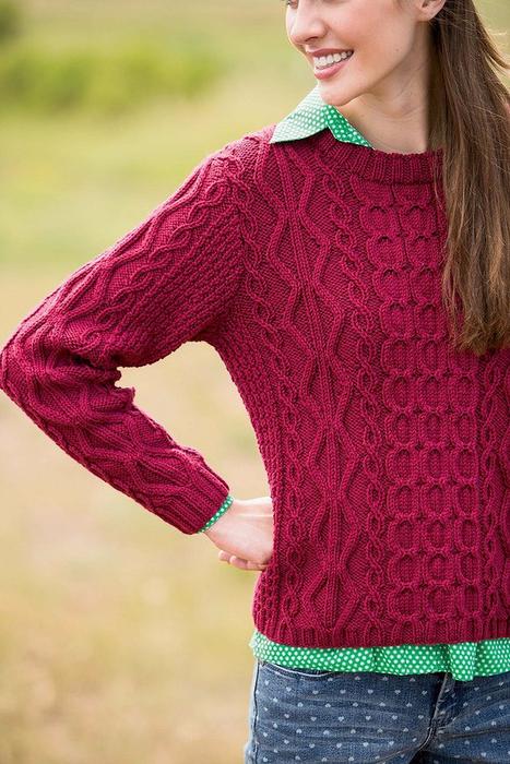 Вяжем спицами свитера 2014