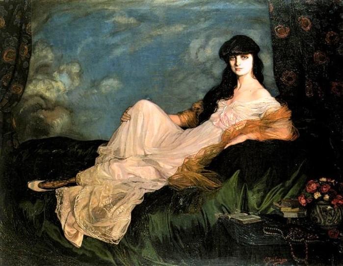Condesa Mathieu de Noailles    1913 (700x542, 111Kb)