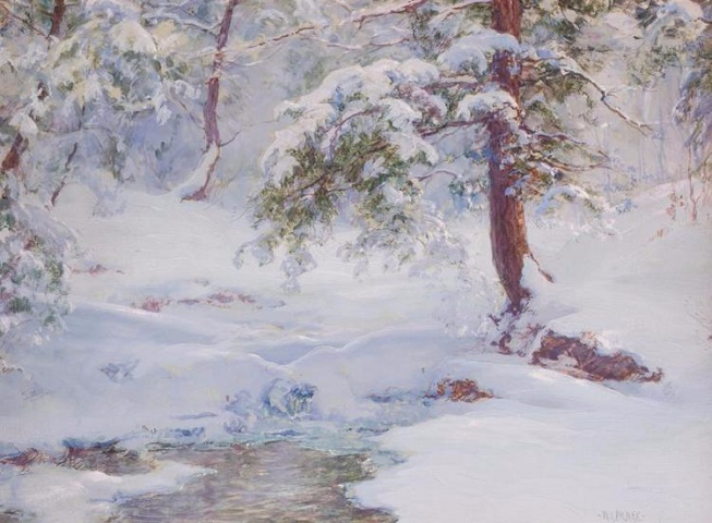 A Winter Idyll (653x480, 279Kb)