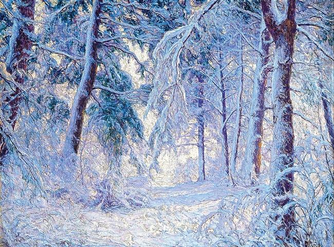 Зимний лес (650x481, 668Kb)