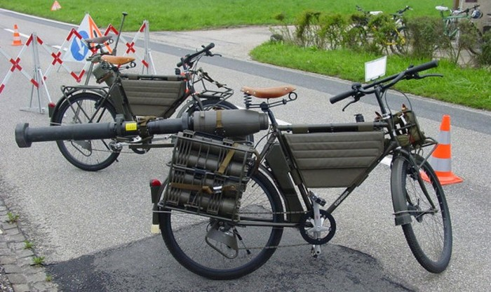Что такое боевые велосипеды, кто и где на них воюет