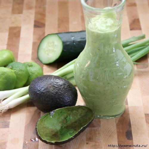 Соус для заправки салатов с авокадо (500x500, 107Kb)