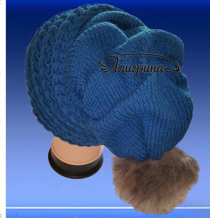Вязание шапок клоке 157