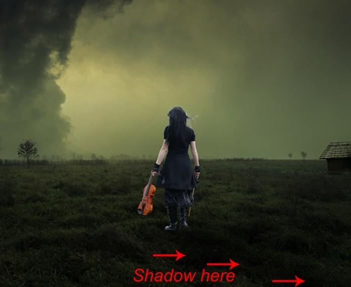 Как создать темный мистический коллаж в Photoshop